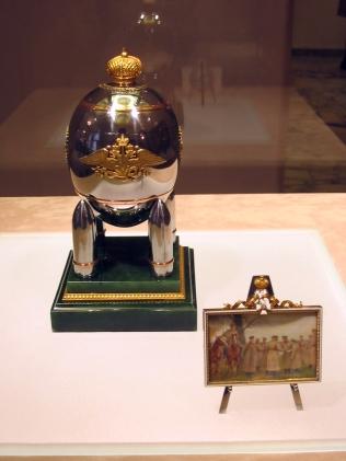 """""""Faberge Steel Military""""  - Gedragen door vier kogels - Had een miniatuurschilderij als surprise Copyright: Madoa - Flickr:  Licensed under CC BY-SA 2.0"""